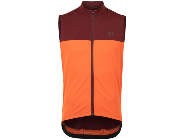 PEARL iZUMi Quest SL Jersey Men, sunset orange/redwood